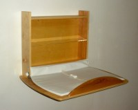 baby changing table wall mounted by KinderandWellness on Etsy