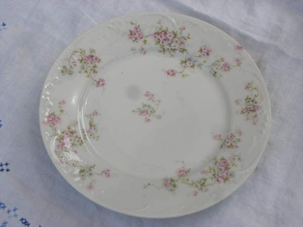Plate Luncheon Limoges Haviland France Vintage
