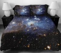 Galaxy bedding set two sides printing galaxy twin by Tbedding