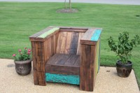 Oversized Pallet/Reclaimed Wood Chair