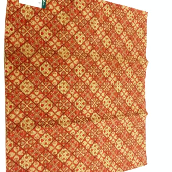 Greeff Chenille Geometric Fabric Sample 27 X 26