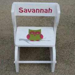Chair Stool Combo Swing Replacement Canopy Two Step Combination By Theedwardsworkshop On Etsy