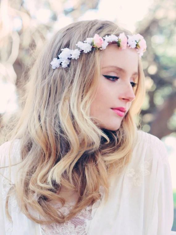 Hochzeit Braut Haar Zubehr rosa Rosen Haar von