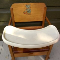 Mid Century Modern Wire Chair Shower With Arms And Backrest Vintage Folding Potty Wooden Child's Training