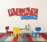Playroom Wall Decal Childrens Decor Vinyl Wall Decal