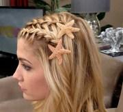 starfish hair pins beach accessories