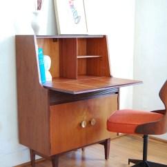 Modern Slipper Chair Black Kitchen Table Chairs Vintage Secretary Desk Mid Century
