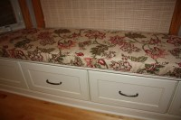 Bay Window Seat Cushion Cover Trapezoid 83 x 17