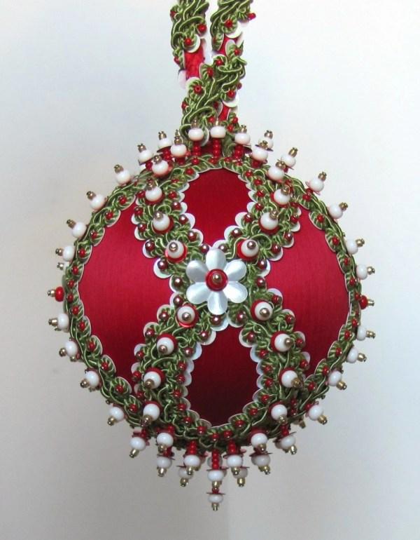 Beaded Christmas Ornament Kit Chalet