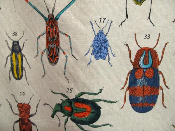 Bugs Screenprint Fabric Design Legacy Reneesfabrics