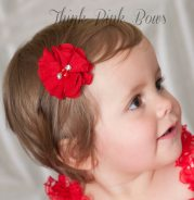 hair bows baby clips