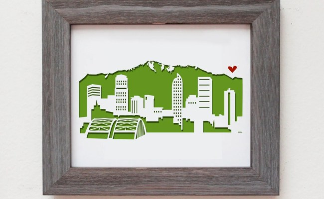 Denver Colorado Personalized Gift Or Wedding Gift By