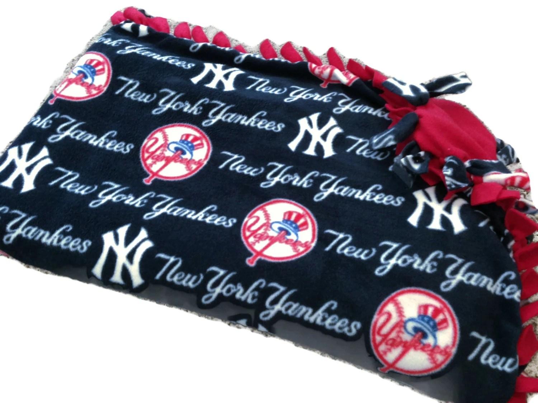 Blanket Yankee Baby New York