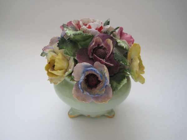 Vintage Adderley Floral Bone China England Signed Numbered