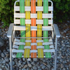 Vintage Lawn Chair Menards Patio Chairs For A Penny Webbed Aluminum Camping