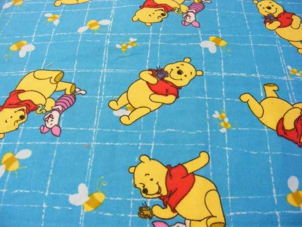 Winnie Pooh And Piglet Flannel Yard
