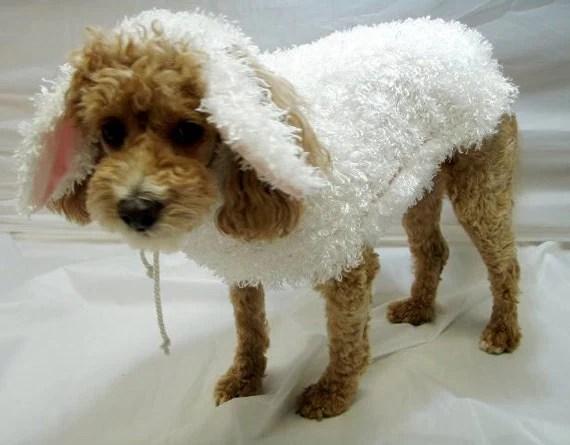 Dog Costume Halloween Lamb