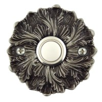 Rosette decorative Doorbell button cover with lighted