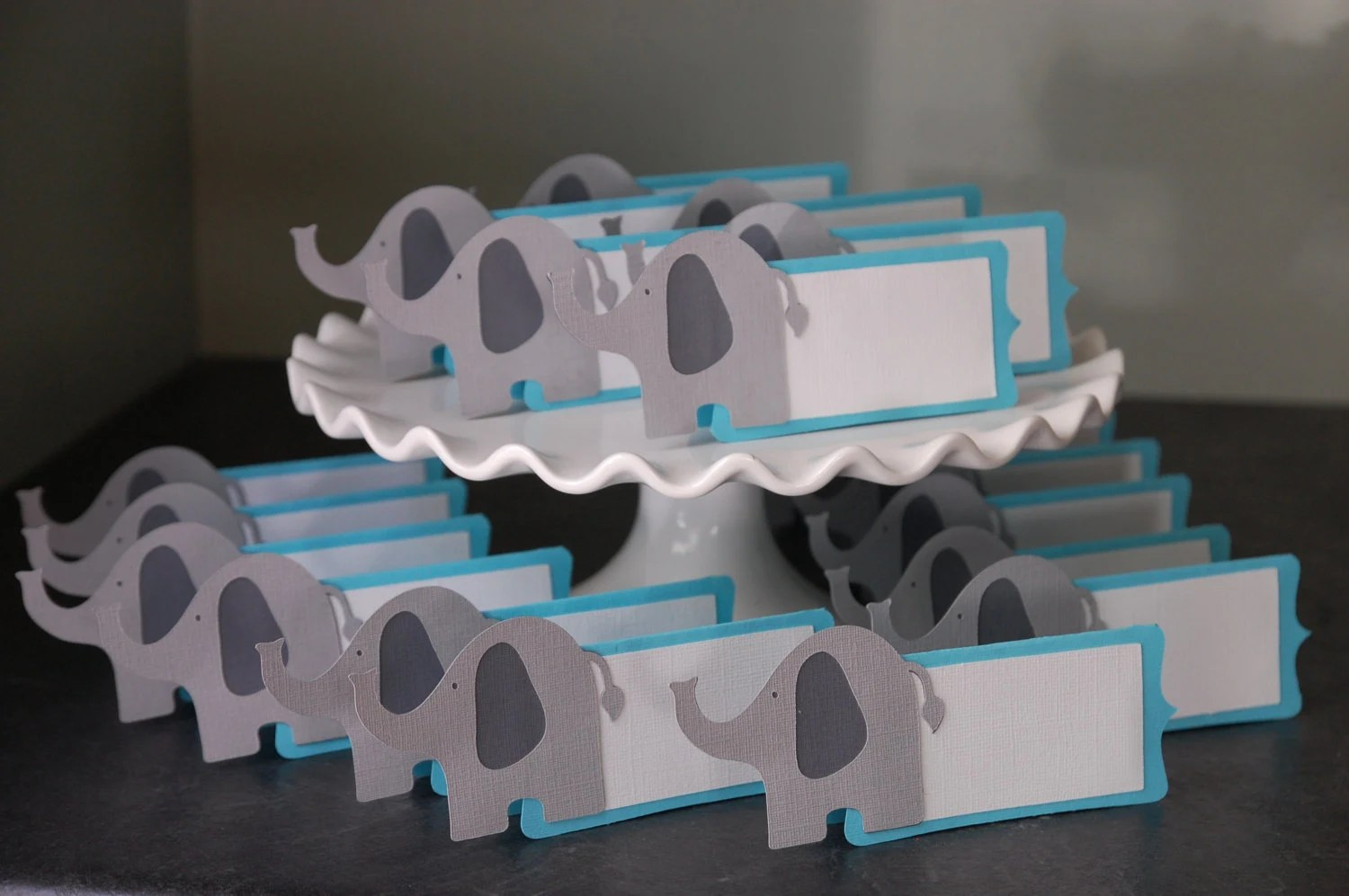 Elephant Place Cards Elephant Food Labels Elephant