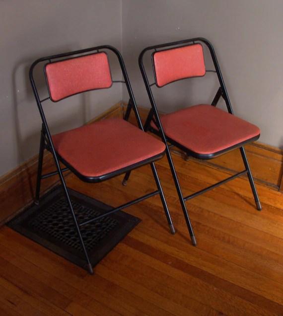 Admirable Vintage Metal Folding Chair Facingwalls Cjindustries Chair Design For Home Cjindustriesco