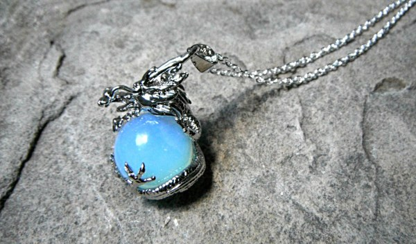Dragon Opalite Necklace Chinese