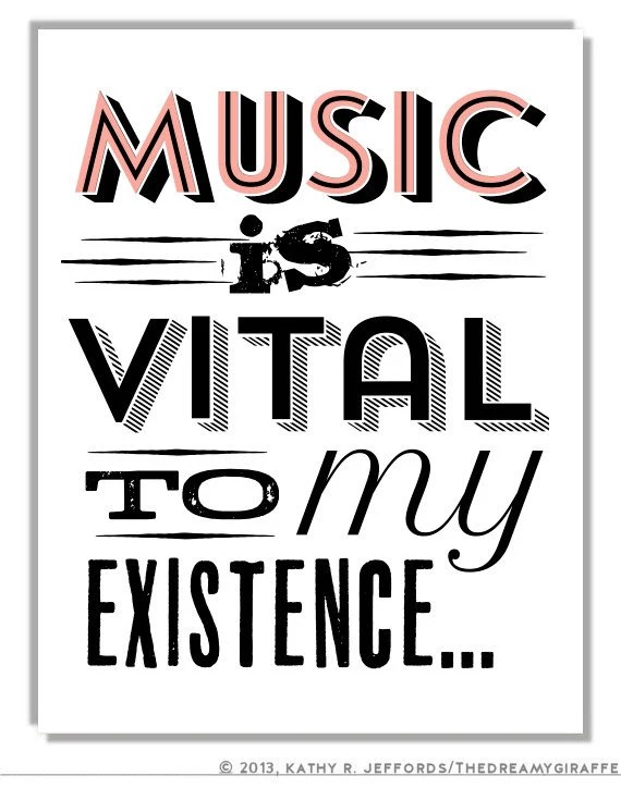 Popular items for music quote on Etsy