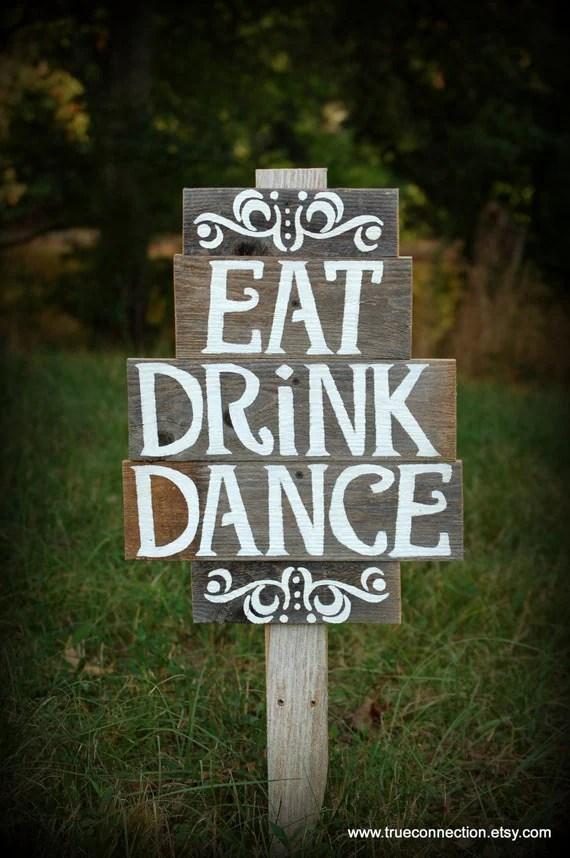 Wedding Reception Signs Ideas