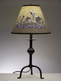 Items similar to Rustic Loon Table Lamp on Etsy