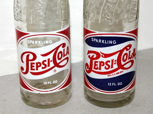 Vintage Pepsi Cola Bottles Glass Pop Soda Double Dot 1940s