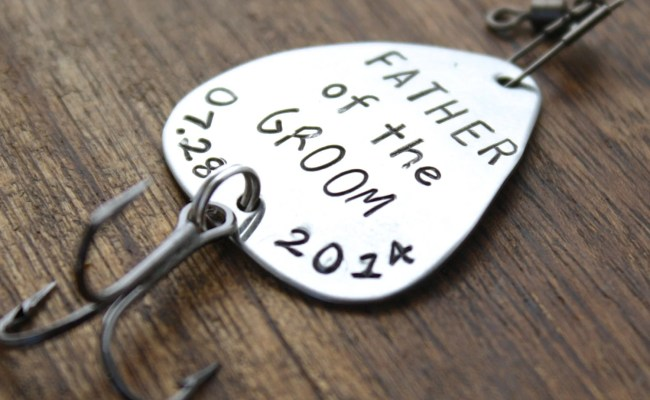 Father Of The Groom Fishing Lure Father Gift By