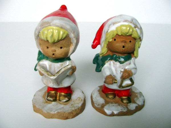 Christmas Carolers Figurines