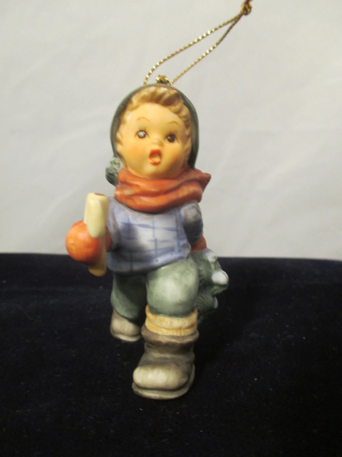 Berta Hummel Goebel Figurine Ornament Boy By CharlottsAntiques