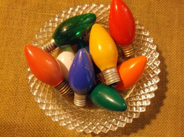 Bulbs C9 Vintage Christmas Light Set Of