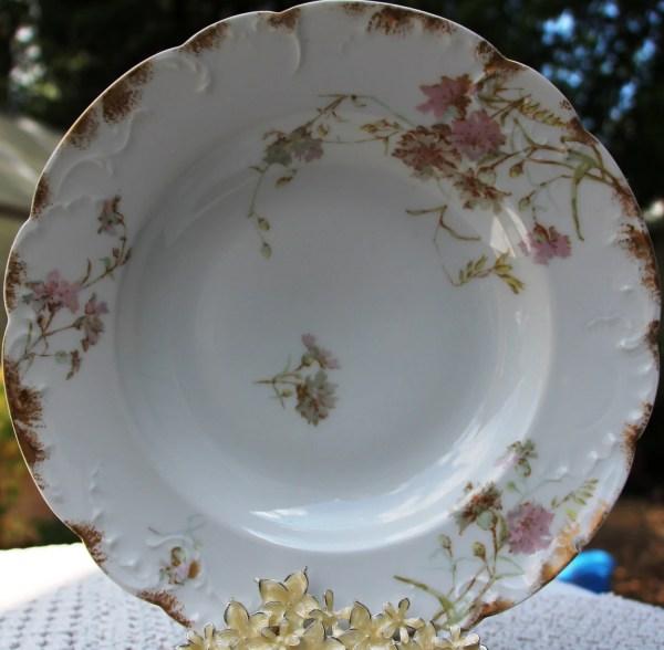 Antique Limoges Plates & France Haviland And