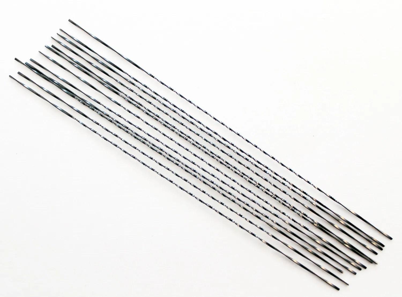 1 Doz Fret Saw Blade Spiral Sawblades Size 3 Cut Wax Wood