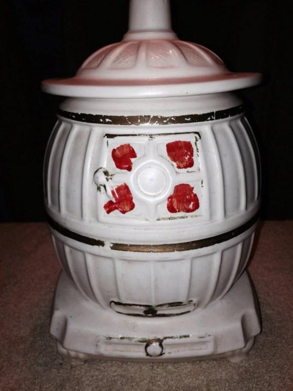 White Stove Cookie Jar
