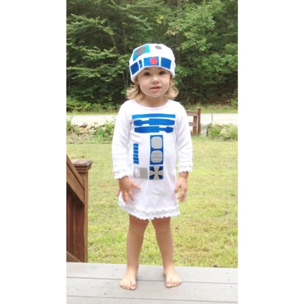 Toddler Robot Dress Costume