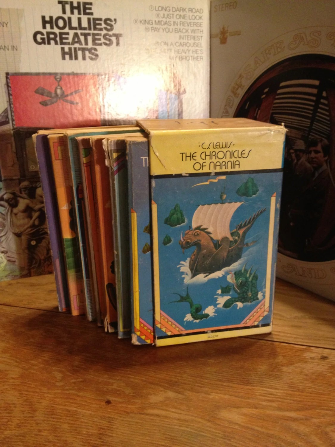 1970 Edition The Chronicles of Narnia Box Set by CS Lewis