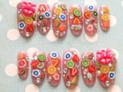 long nails fruit nail 3d