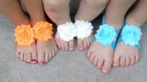 Flower Sandals for Babies