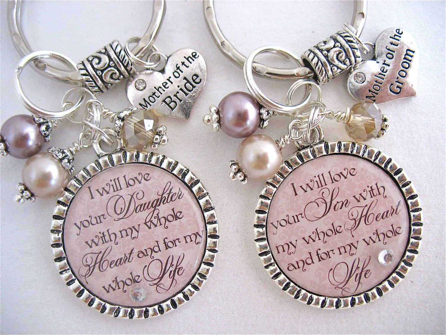 MOTHER Of The BRIDE Gift Mother Of The GROOM Champagne Taupe I