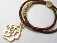 Items similar to Elastic Hair Tie or Bracelet , Ponytail ...
