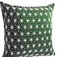 Emerald Green Sofa Covers Furniture Beds Canada Throw Pillow Cover With Silver By Amorebeaute