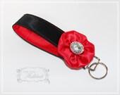 Key Fob Keychain , Unique Key Chains , Wristlet Key Fob , Original Wristlet , Bridesmaid Gifts , Teacher Gifts , Landyard - LittleMissHattitude