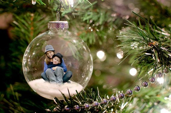 Christmas Ornament Template For Photoshop By