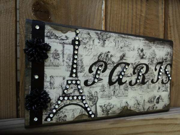 PARIS Decor Sign Decorative Eiffel Tower in by ...