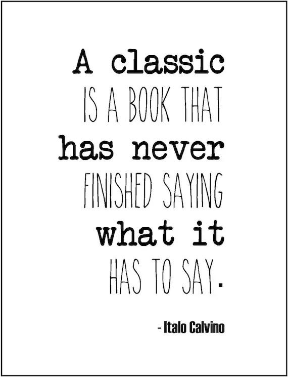 From Classic Literature Quotes. QuotesGram
