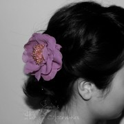 wedding bridesmaid prom hair piece