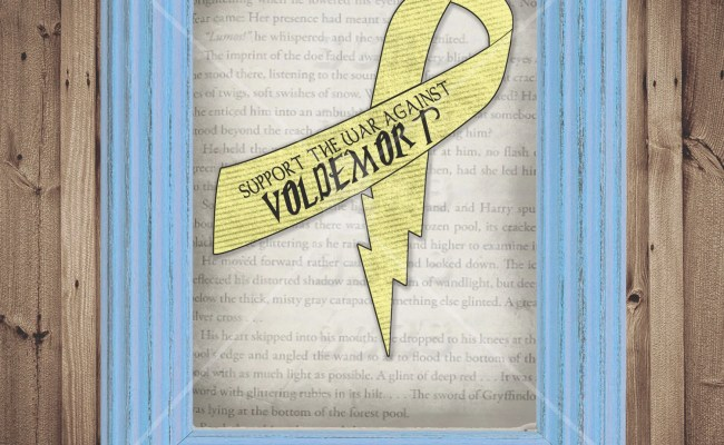 Items Similar To Support The War Against Voldemort Harry