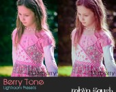 Lightroom Presets - 5 Berry Tone Photography Presets for Lightroom